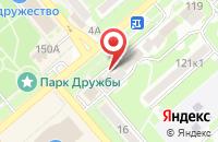 Схема проезда до компании Proffline в Георгиевске