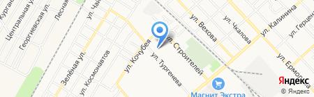 Детский сад №11 Радуга на карте Георгиевска