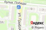 Схема проезда до компании Фотошкола Юрия Кашина в Дзержинске