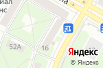 Схема проезда до компании Арлекино в Дзержинске