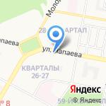 КАР на карте Дзержинска