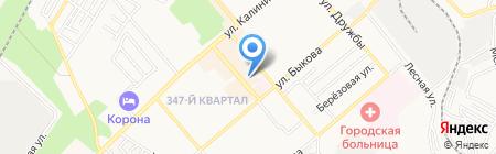 Банкомат КБ ЕвроситиБанк на карте Георгиевска