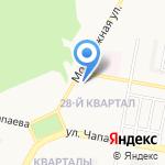 Отдел судебных приставов по Дзержинскому району на карте Дзержинска