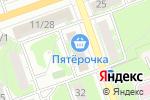 Схема проезда до компании Салон дверей в Дзержинске