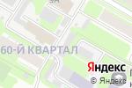 Схема проезда до компании Автосервис на ул. Грибоедова в Дзержинске
