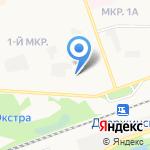 Центр ветеринарной помощи на карте Дзержинска