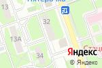Схема проезда до компании Территориальное общественное самоуправление в Дзержинске