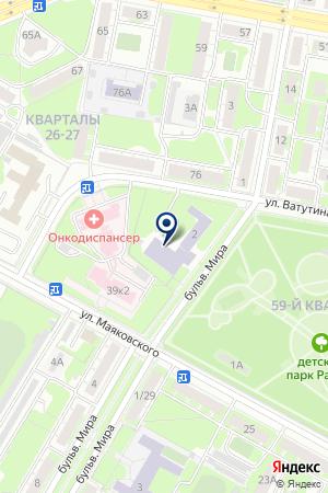 ТФ КОВАЛЕВ А. Г. на карте Дзержинска