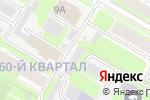 Схема проезда до компании Автосервис в Дзержинске