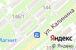 Схема проезда до компании Флора в Георгиевске