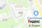 Схема проезда до компании Дзержинская управляющая компания в Дзержинске