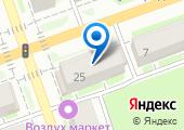 Центр распродаж одежды на карте
