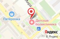 Схема проезда до компании Георгиевская городская детская поликлиника в Георгиевске