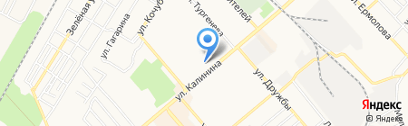 Ларус на карте Георгиевска