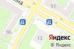 Схема проезда до компании Финанс Групп в Дзержинске
