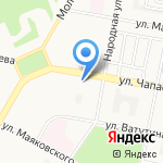 Ваз для Вас на карте Дзержинска
