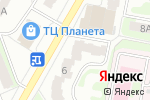 Схема проезда до компании Растяпино в Дзержинске