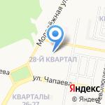 Автоклуб на карте Дзержинска