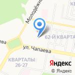 Специальная коррекционная школа-интернат г. Дзержинска на карте Дзержинска