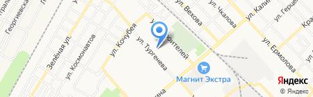 Средняя общеобразовательная школа №4 на карте Георгиевска
