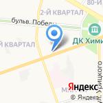 Русфинанс банк на карте Дзержинска