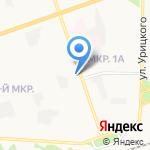 Компания Фабрика Комфорта на карте Дзержинска
