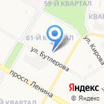 Детский сад №25 на карте Дзержинска
