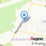 Магнит Косметик на карте Дзержинска