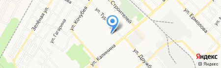 Детский сад №20 Золотая рыбка на карте Георгиевска