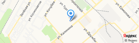 Теледомик на карте Георгиевска