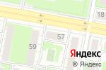 Схема проезда до компании Продуктовый магазин на ул. Чапаева в Дзержинске