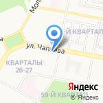 Энекс на карте Дзержинска