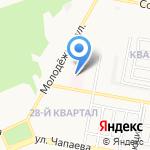 Комплекс Русь на карте Дзержинска