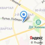 Юрист в Дзержинске на карте Дзержинска