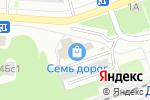 Схема проезда до компании Дубки в Дзержинске