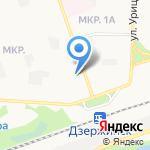 Преображение на карте Дзержинска
