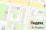 Схема проезда до компании Городецкие источники в Дзержинске