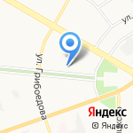 Управление социальной защиты населения г. Дзержинска на карте Дзержинска