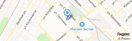 Северо-Кавказский институт повышения квалификации на карте Георгиевска