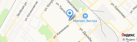 Золотая рыбка на карте Георгиевска