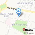 Рики пицца на карте Дзержинска