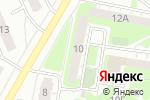 Схема проезда до компании Содействие в Дзержинске