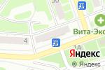 Схема проезда до компании Билайн в Дзержинске