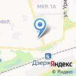 Кристалл на карте Дзержинска