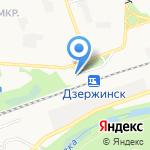 От Емели на карте Дзержинска