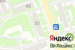 Схема проезда до компании Кристалл в Дзержинске