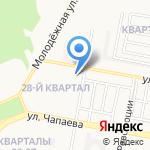 Детский сад №115 комбинированного вида на карте Дзержинска