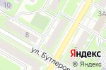 Схема проезда до компании Цитадель в Дзержинске