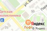 Схема проезда до компании ДЮСШ в Георгиевске