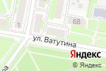 Схема проезда до компании Чик-чик в Дзержинске